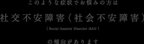 障害 社会 不安